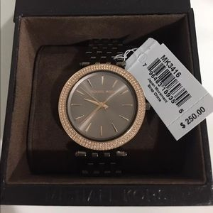 dc596a787df0 KORS Michael Kors Accessories - Michael Kors Darci Sable Watch MK3416